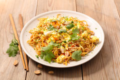 Fried pad thai Royalty Free Stock Photo