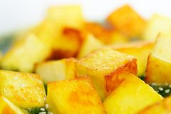 Fried paneer Royalty Free Stock Images