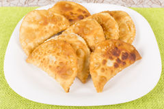 Fried pasties Royalty Free Stock Photo