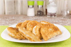 Fried pasties Stock Photography