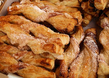 Fried pastries. For sale at a local fair Stock Photos