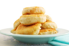 Fried patties, isolated Stock Photos