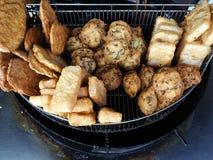 Fried patty Stock Photo