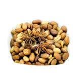 Fried peanuts Royalty Free Stock Photo