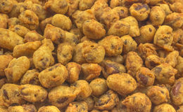 Fried Peanuts Royalty Free Stock Photography
