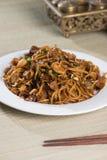 Fried Penang Char Kuey Teow royaltyfria bilder