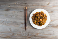 Fried Penang Char Kuey Teow Arkivbild