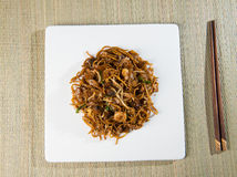 Fried Penang Char Kuey Teow Fotografie Stock Libere da Diritti