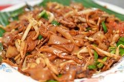 Fried Penang Char Kuey Teow royaltyfria foton