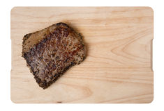 Fried pepper steak Stock Image