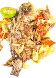 Fried Pickle Fish IX Stock Photo