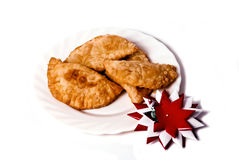 Fried pies royalty free stock photo