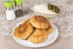 Fried pies Royalty Free Stock Photos