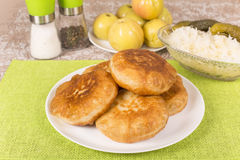 Fried pies Royalty Free Stock Images