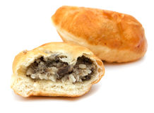 Fried pies with meat Royalty Free Stock Photography