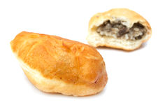 Fried pies with meat Royalty Free Stock Images