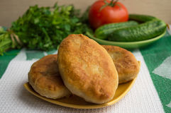 Fried pies Stock Image