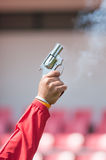 Fried pistol gun Royalty Free Stock Photos