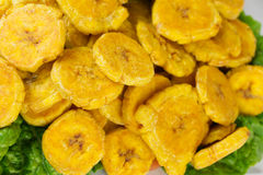 Fried Plantain Background Royalty Free Stock Images