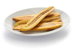 Fried plantain banana Stock Photography