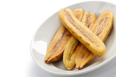 Fried plantain banana Stock Image