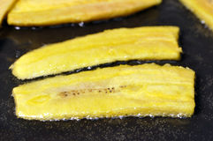 Fried plantains Royalty Free Stock Photos