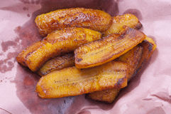 Fried plantains Stock Image