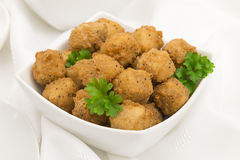 Fried Popcorn Chicken Royalty Free Stock Image