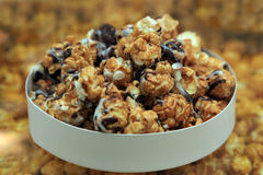 Fried popcorn closeup Royalty Free Stock Photos