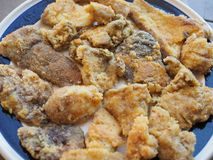 Fried porcini mushrooms Royalty Free Stock Images
