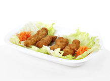 Fried pork Stock Image