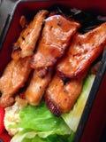 Fried pork bento set, japanese food Royalty Free Stock Photography