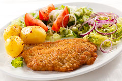 Fried pork chop Royalty Free Stock Photography