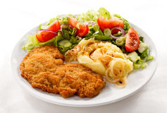 Fried pork chop Royalty Free Stock Image