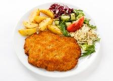 Fried Pork Chop Stock Images