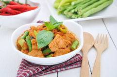 Fried Pork Curry. Stock Photography