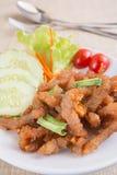 Fried pork royalty free stock photo
