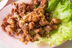 Fried pork Stock Images