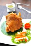 Fried pork leg Stock Photography