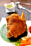 Fried Pork Leg Royalty Free Stock Images
