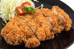 Fried pork meat Stock Photography