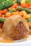 Fried pork meatball Stock Photos