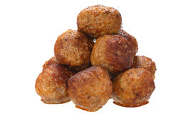 Fried pork meatballs Royalty Free Stock Photo