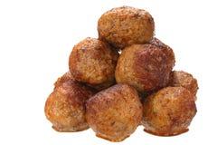 Fried pork meatballs Royalty Free Stock Photo