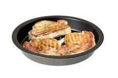 Fried pork medallion Royalty Free Stock Photo