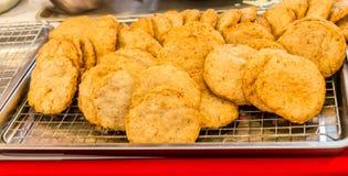 Fried Pork para a venda imagem de stock