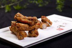 Fried pork ribs Royalty Free Stock Image