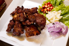 The Fried Pork Ribs. Stock Image