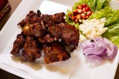 The Fried Pork Ribs. Stock Image