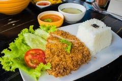 Fried pork (Tonkatsu) Stock Photo